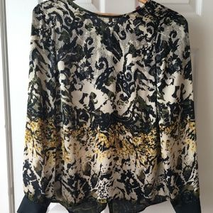 Vince Camuto Long-Sleeve Blouse, XS